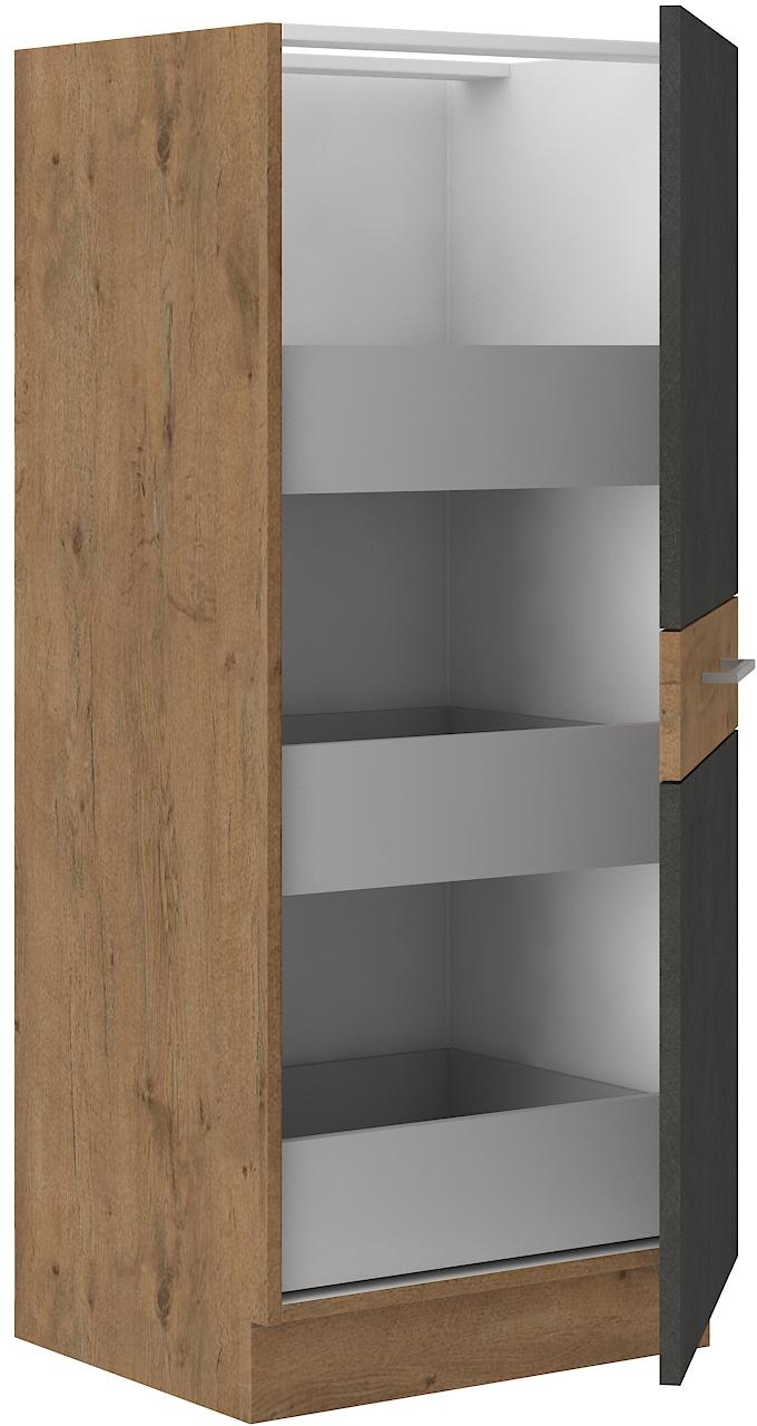 Hochschrank 50 cm / 145 cm mit Schubladen VIGO MATERA  mat