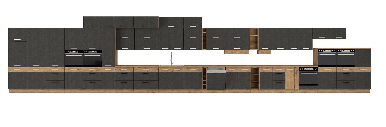 Küche Vigo Matera 270 cm