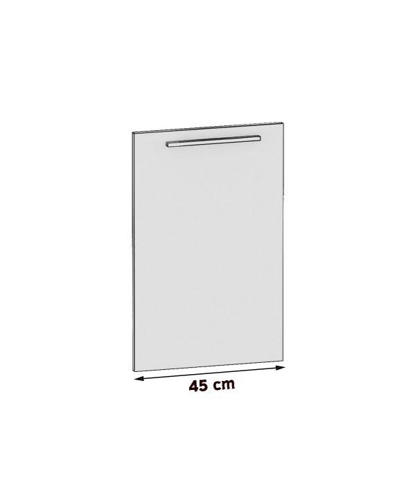 Frontblende für Geschirrspüler 45 cm vollintegrierbar
