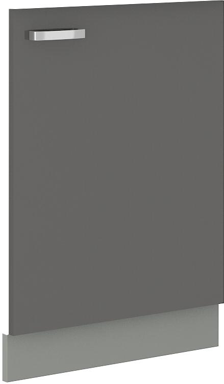 Geschirrspülerfront 60 cm Vollintegrierbar Grey
