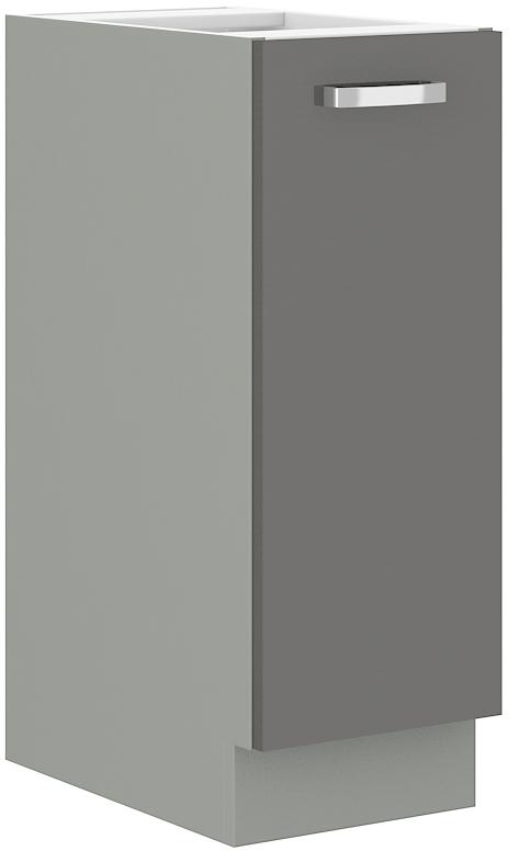 Unterschrank 30 cm Vorratsauszug Grey