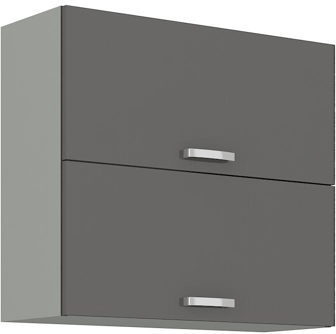 Oberschrank 80 cm / 72  cm mit Klapptür Grey