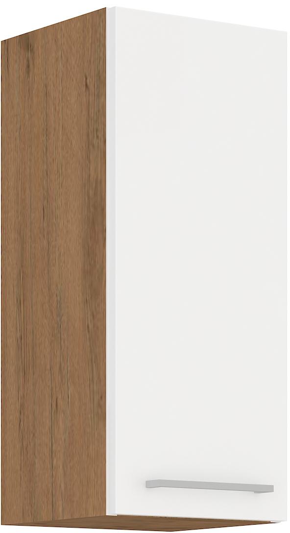 Oberschrank 30 cm / 72  cm VIGO Weiss HG