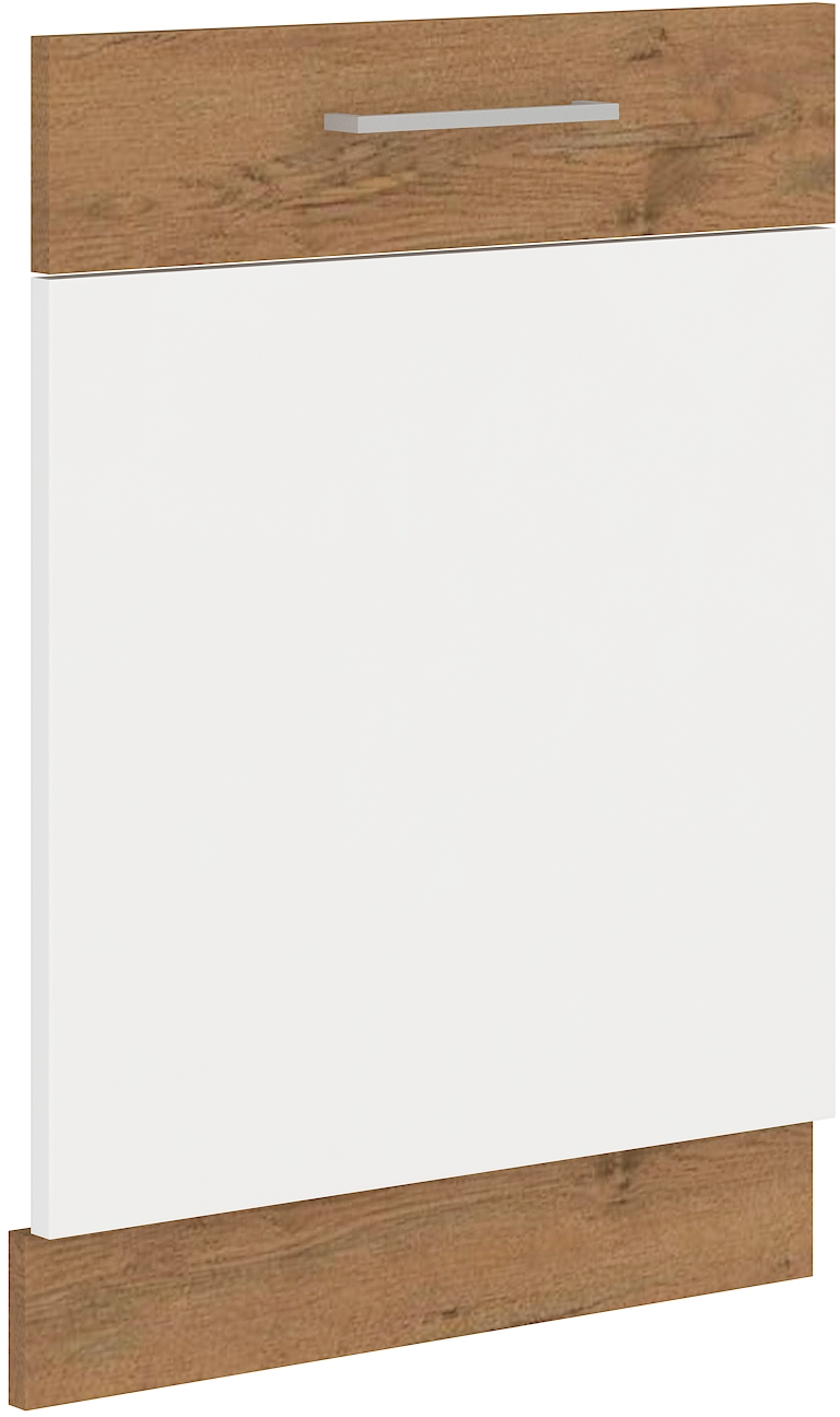 Geschirrspülerfront 60 cm Vollintegrierbar VIGO Weiss HG
