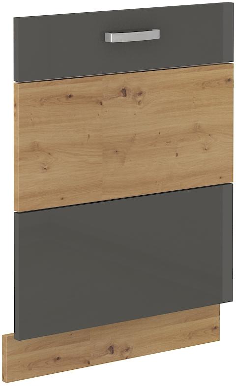 Geschirrspülerfront 60 cm Vollintegrierbar ARTISAN Grau HG